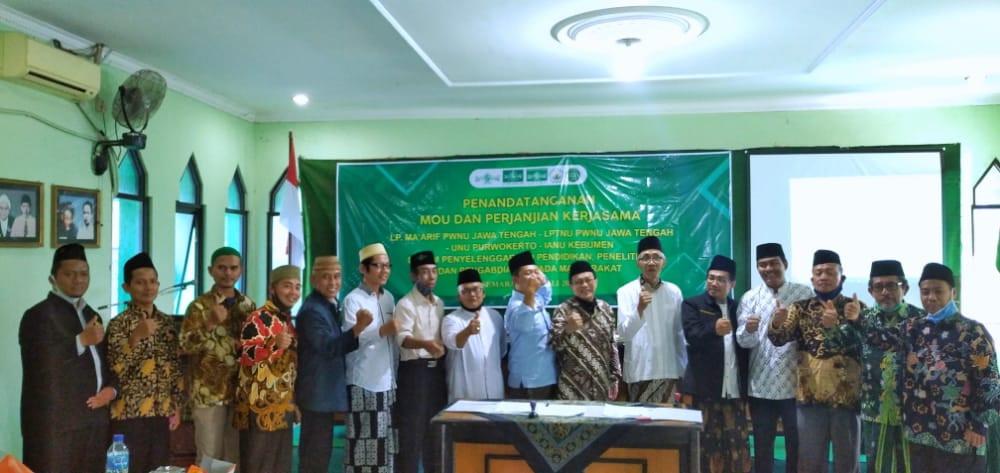 MoU antara STIT Madina Sragen dengan LPTNU Jawa Tengah