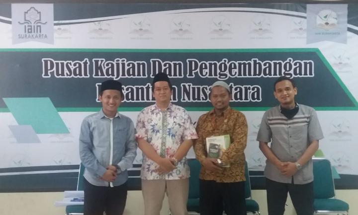 Kunjungan Ke Pusat Kajian dan Pengembangan Pesantren Nusantara (PKPPN) IAIN SURAKARTA